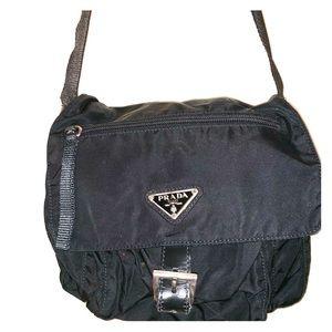 Prada Small Nylon Crossbody Bag Black (Nero)